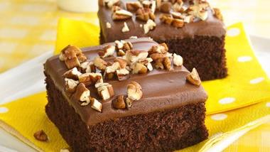 Triple Chocolate Sheet Cake