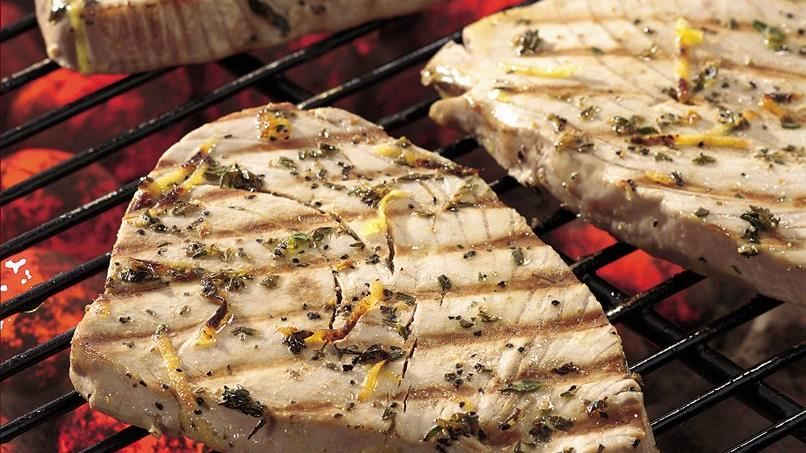 Lemon and Thyme Grilled Tuna