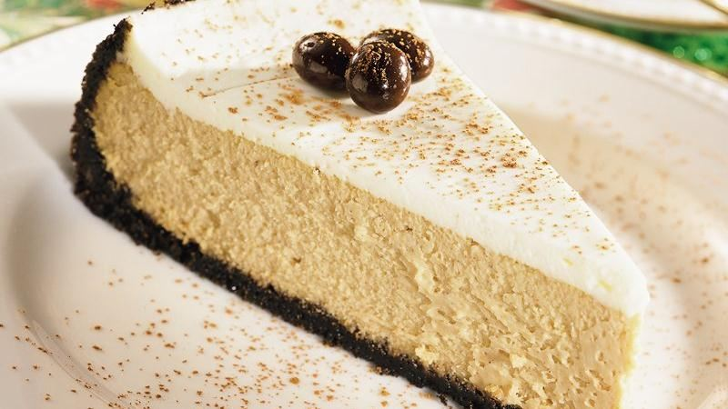 Creamy Cappuccino Cheesecake recipe from Betty Crocker