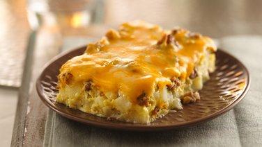 Overnight Tex-Mex  Egg Bake