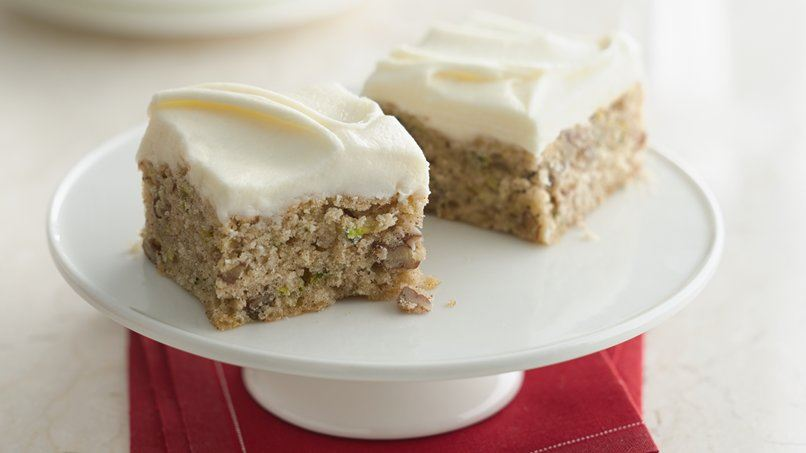Zucchini Bars with Browned Butter Frosting