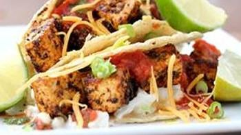 Blackened Tofu Tacos