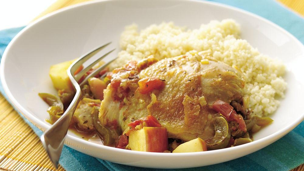 Pepper-Curry Chicken
