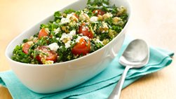 Gluten-Free Quinoa Tabbouleh with Kale