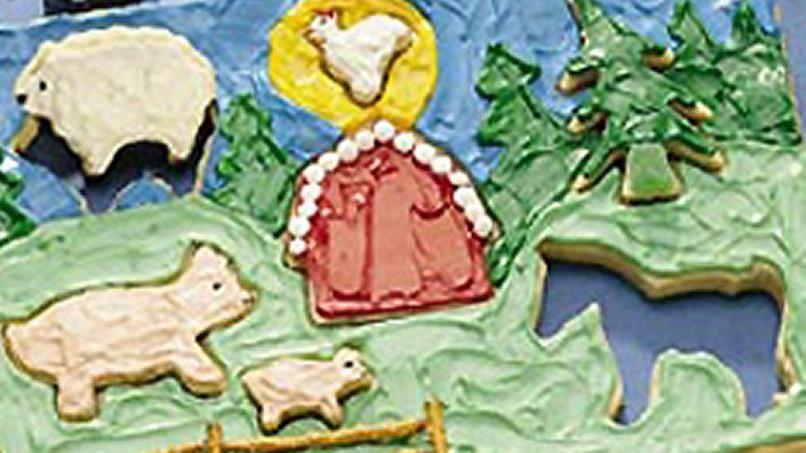 Create-a-Scene Cookie Puzzle