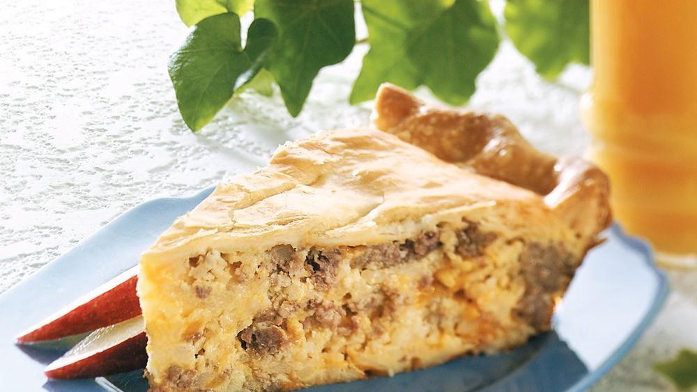 Potato-sausage Pie