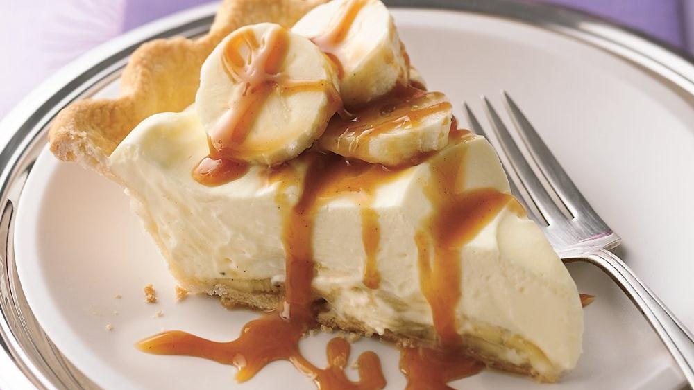 Bananas Foster Pie