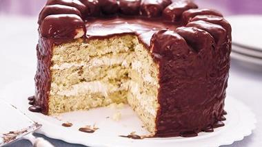 Chocolate-Coconut Candy Bar Cake