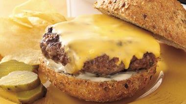 Grilled Ranch Cheeseburgers