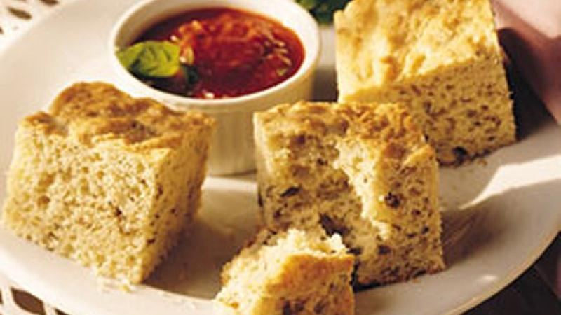 Pesto Appetizer Squares