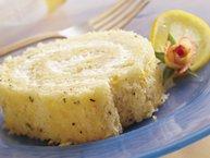 Rosemary-Lemon Cake Roll
