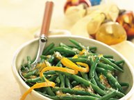 Green Beans with Rosemary-Orange Glaze