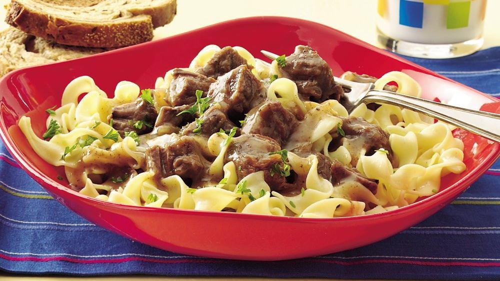 Slow-Cooker Sauerbraten Beef