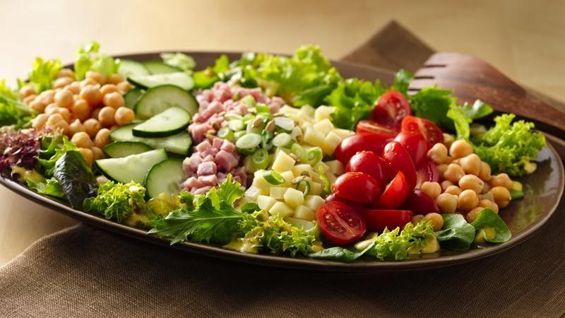Honey-Dijon Chef's Salad