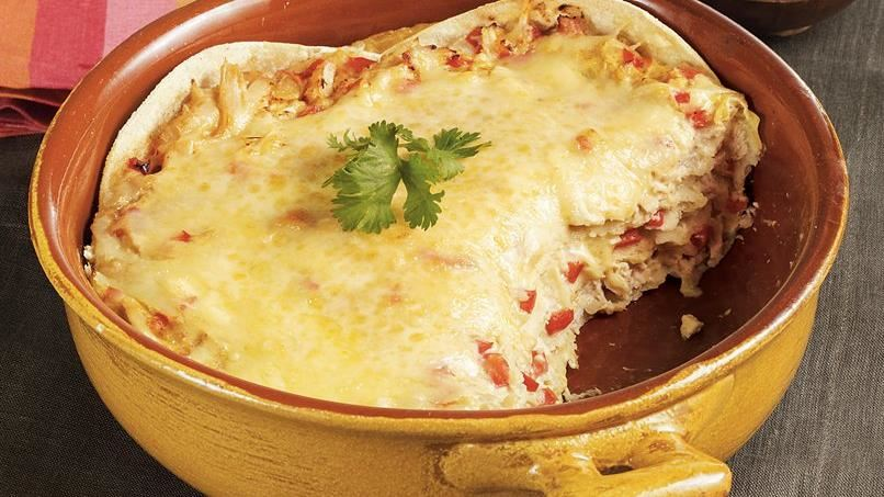 Tortilla Chicken Casserole
