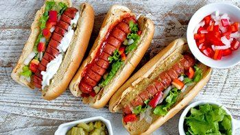 Hasselback Hot Dogs