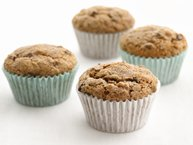 Skinny Banana-Chocolate Chip Muffins