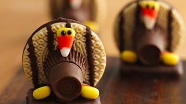 No-Bake Turkey Cookies