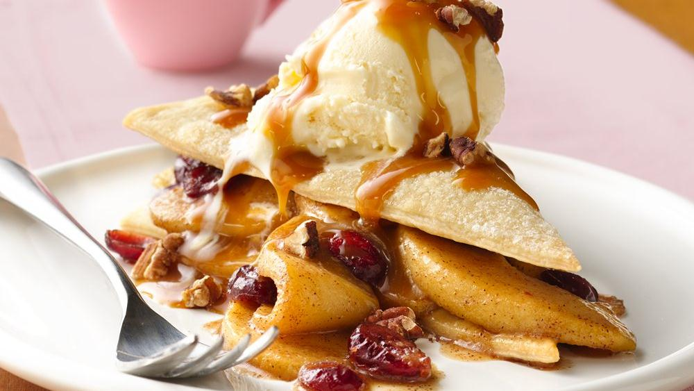 Cranberry-Apple Napoleons
