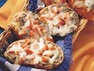 Pesto-Tomato Toast