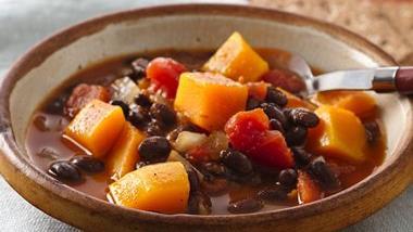 Soy Bean-Squash Soup