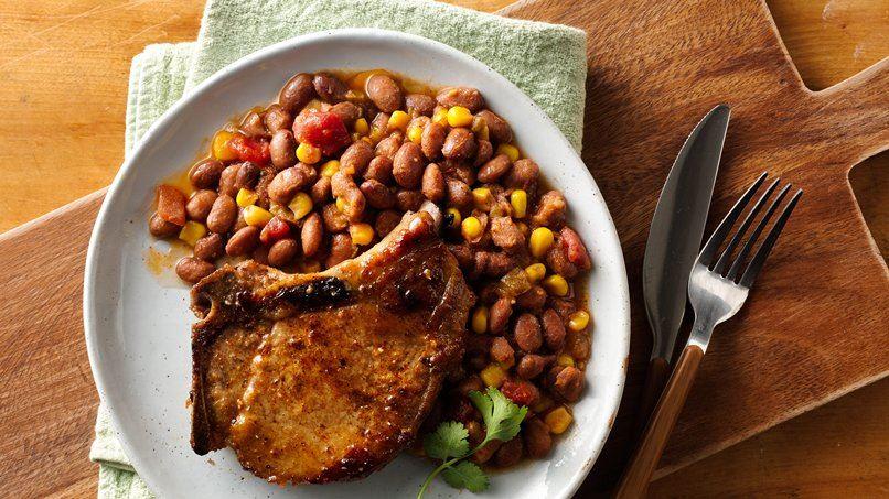 Southwest-Style Slow-Cooker Pork Chops