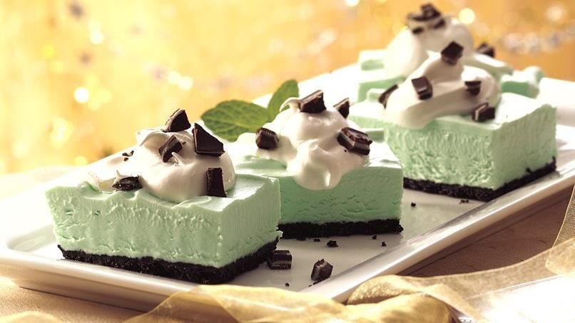 Grasshopper Dessert Squares