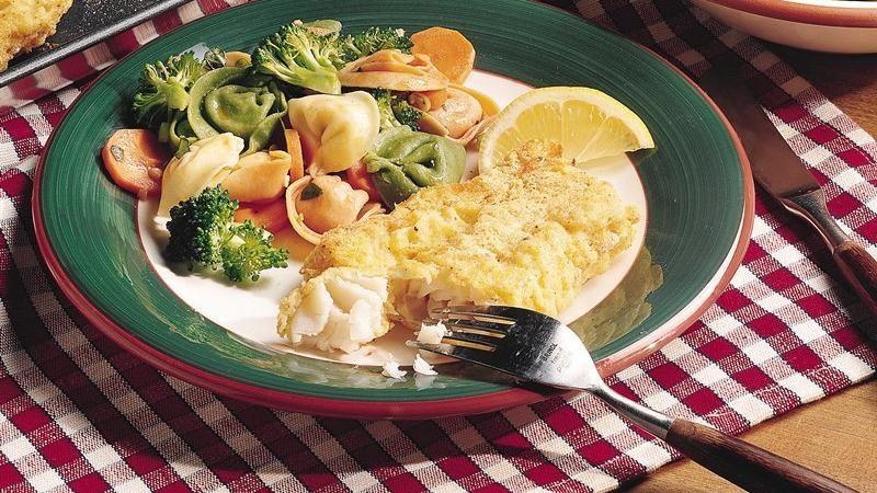Spicy Cornmeal Cod (lighter recipe)