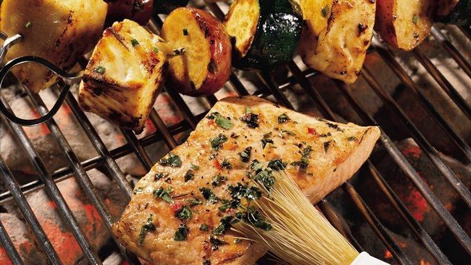 Cilantro Salmon on the Grill recipe - from Tablespoon!