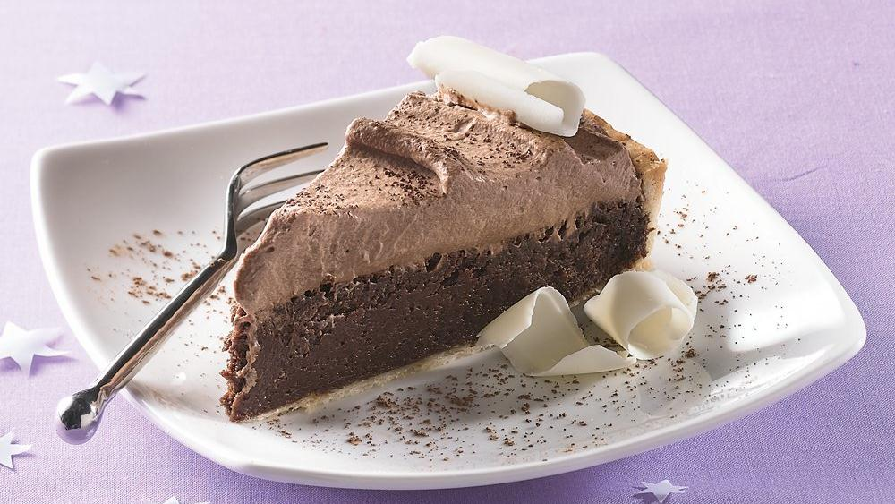 Irish Cream Chocolate Tart