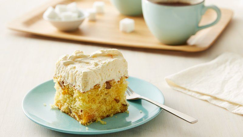 Luscious Mandarin Orange Cake