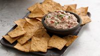 Fire Roasted Tomato-White Bean Dip