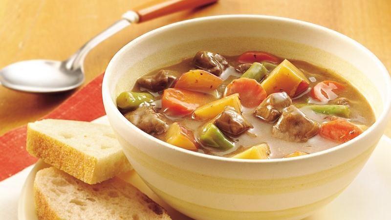 Dijon Steak and Potato Stew