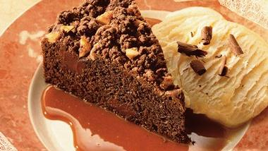 Macadamia Fudge Torte