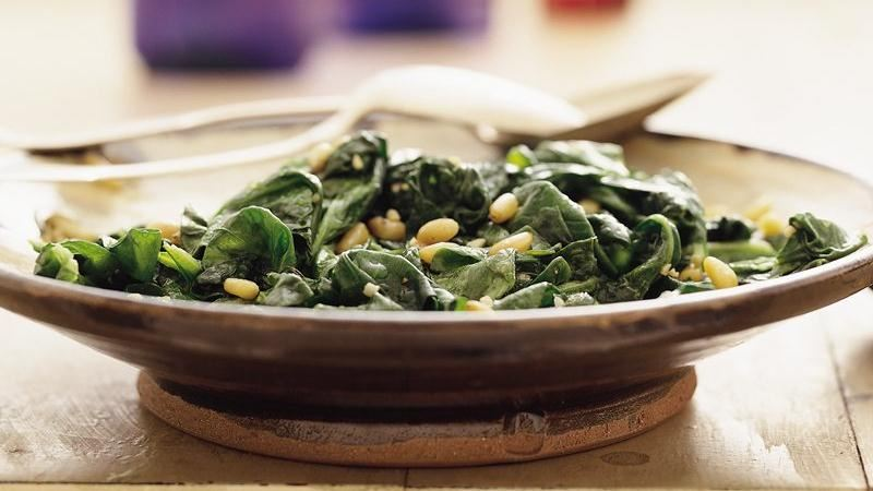 Spinach Milan-Style