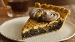 Chocolate-Cashew Pie