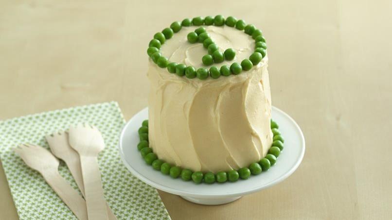 Peas and Carrots Smash Cake