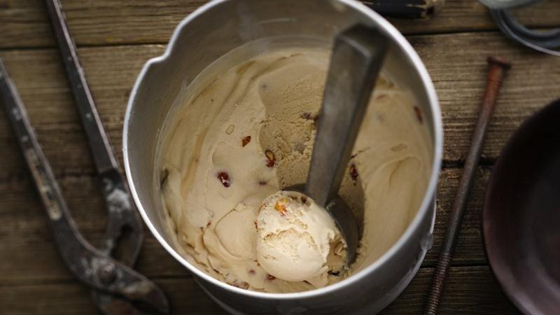 Nutty Beer Ice Cream