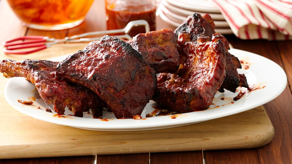 Slow-Cooker Barbecue Ribs recipe from Pillsbury.com