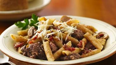 Slow-Cooker Mediterranean Beef and Pasta
