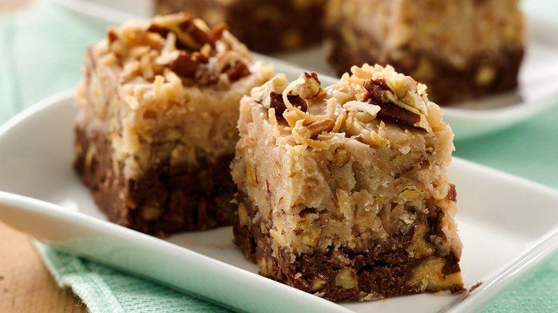 Coconut Pecan Chocolate Fudge