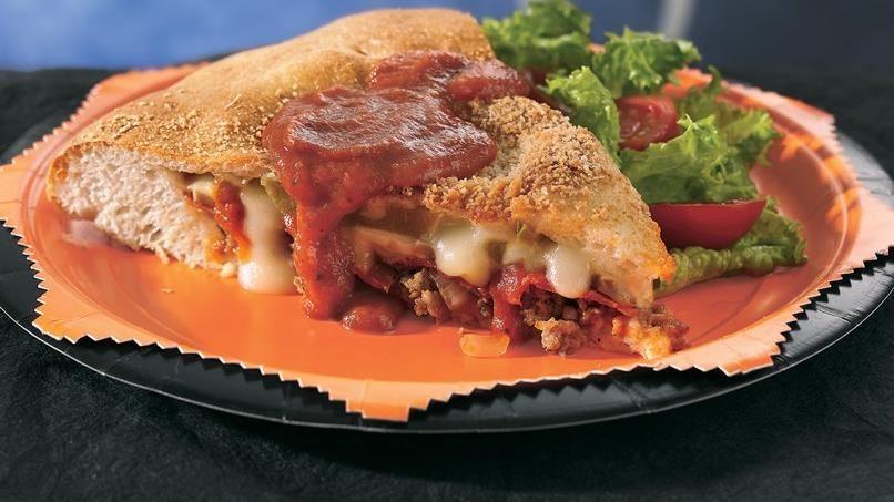 Double-Crust Pizza Supreme