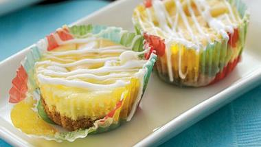 Lemon-White Chocolate Cheesecake Bites