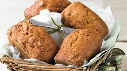Mini Pumpkin Spice Loaves