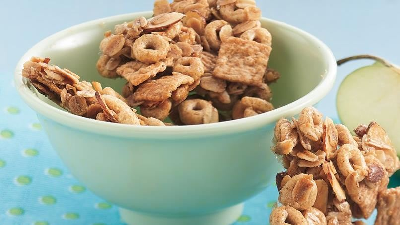 Cereal-Almond Brittle