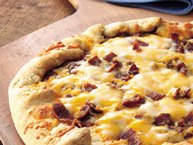 Cowboy BBQ Chicken Pizza