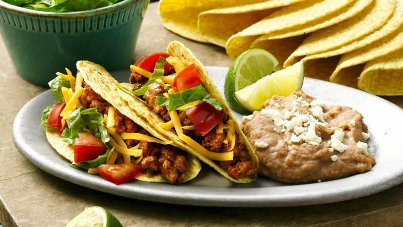 Simple Beef Tacos