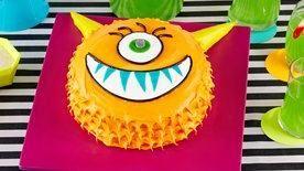 Silly Monster Cake