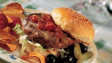 California Black Bean Burgers