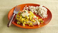 Easy Slow-Cooker Chicken with Tomatillo Salsa